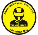 Think Bike Round Sticker