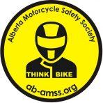 Think Bike Round Sticker