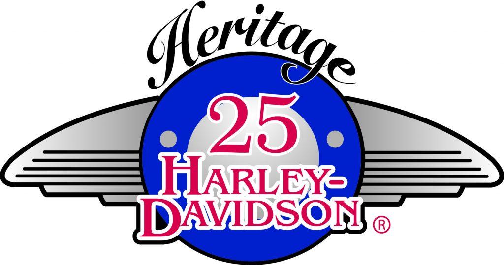 HERITAGE HARLEY 25 ANNIVERSARY OK to use