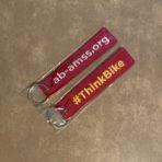 AMSS ThinkBike Flight Tag Keychain