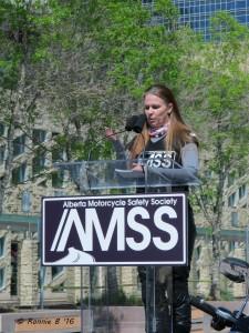 AMSS President Liane Langlois