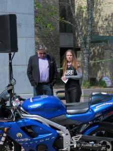 Liane Langlois & Councillor Dave Loken