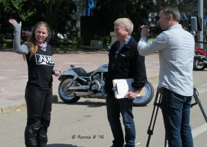 Liane Langlois with ShawTV